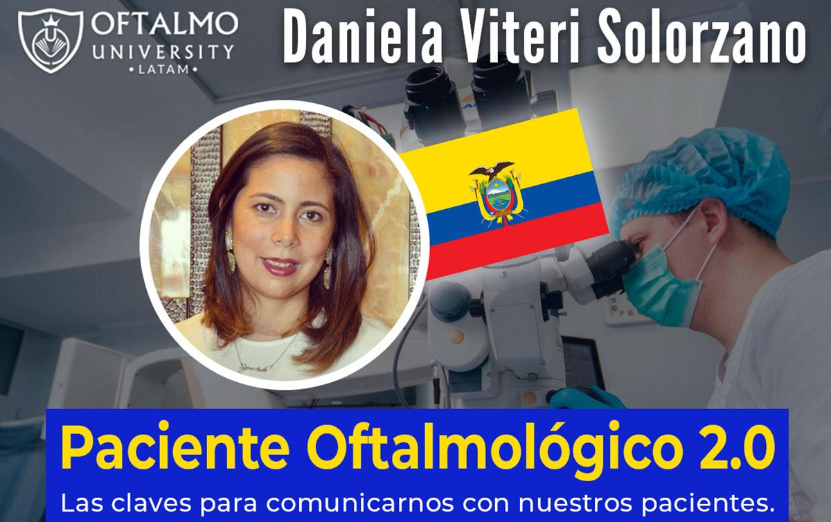 Daniela Viteri Solorzano – Paciente Oftalmológico 2.0 – T4E7
