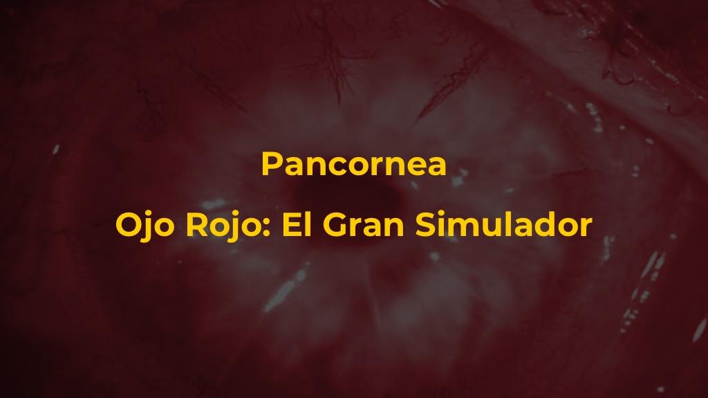 Pancornea – Ojo Rojo: El Gran Simulador